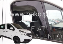 Deflektory Fiat Talento, od r.2016