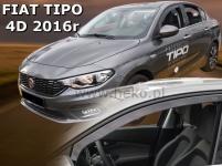 Deflektory Fiat Tipo 4-dverový, od r.2016