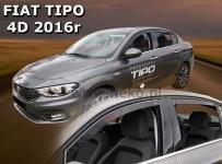 Deflektory Fiat Tipo 4-dverový, od r.2016 (+ZN)