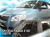 Deflektory ŠKODA FABIA II, 5dv. 05/2007r.→ ...