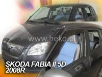Deflektory ŠKODA FABIA II, 5dv. 2008r.→ COMBI ...