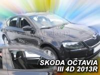 Deflektory ŠKODA OCTAVIA III 5D 2013R.->(+ZN)