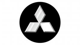 4CARS 3D LOGO MITSUBISHI