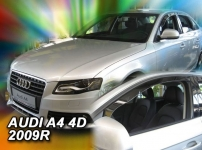 Deflektory AUDI A4, 4dv. od 2009r.--> (+ZN)