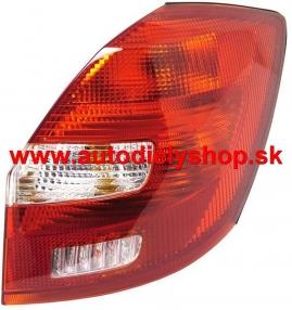 Škoda Fabia 1/07-zadné svetlo pravé