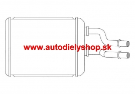 Alfa 147 10/00-2/05 radiátor kúrenia