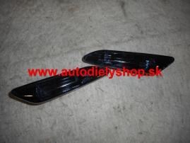 Alfa 156 9/03- bočné smerovky číre čierne Sada L+P