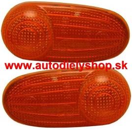 Alfa 147 00-04 bočné smerovky oranžové Sada Ľ+P