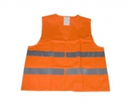 Reflexná vesta oranžová XXXL