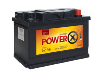 PowerX   new  12V/62 Ah  Ca/Ca
