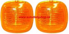 Škoda Fabia 9/99-7/04 bočné smerovky oranžové Sada L+P