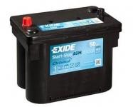 EXIDE AGM EK508 12V 50Ah/800A