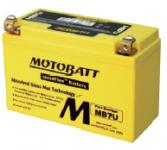 MotoBatt 12V/ 6,5Ah (L)  MB7U