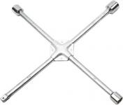 Kľúč na kolesá, krížový spevnený, 17 x 19 x 22 x 1/2 mm