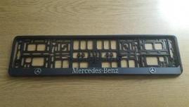 Podložka špz 3D 2ks- MERCEDES