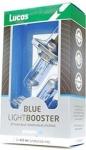 LUCAS 2x 472 H4 12V 60/55W P43t Blue Light Booster
