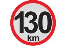 konštrukčná rýchlosť  130 km - reflexná ...
