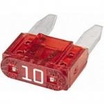 Mini ploché poistky 10A 20ks v balení