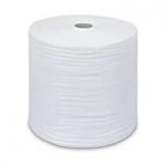 Priemyselná papierová  utierka v rolke - biele, ...