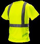 Tričko s vysokou viditeľnosťou, reflexné žlté, ...