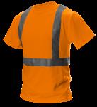 Tričko s vysokou viditeľnosťou, reflexné oranžové, ...