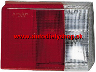 Audi 80 86-91 zadné svetlo Lavé