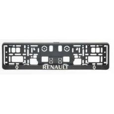 Podložka špz 3D 2ks- RENAULT